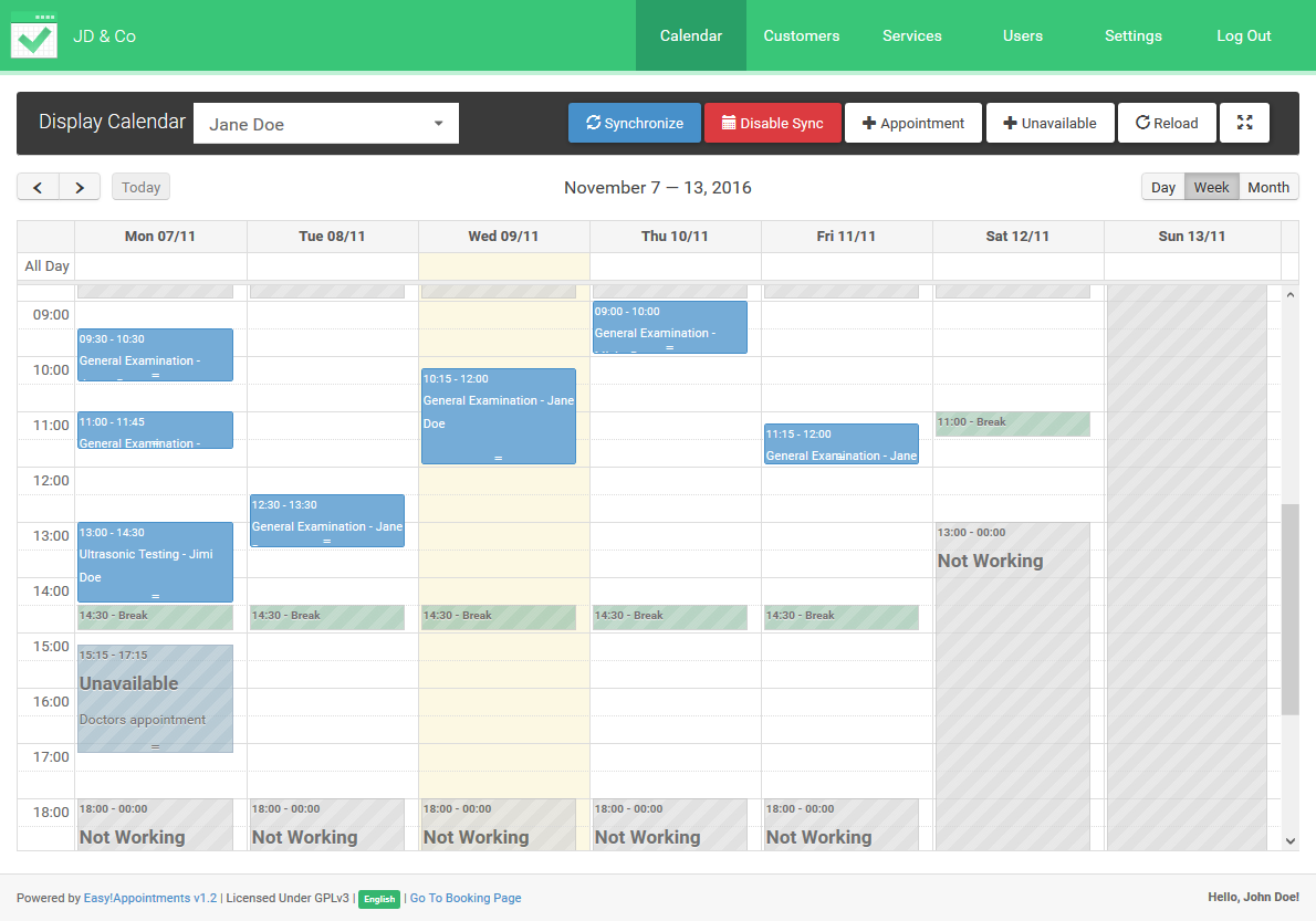 easy appointments   free and open source appointment scheduler for windows  mac