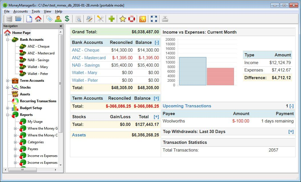 free accounting software for mac os x