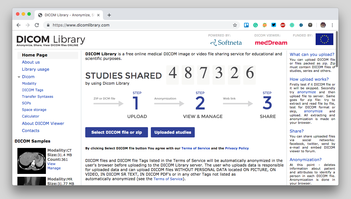 11 Best Free Online Web-based & Cloud DICOM Viewers Services