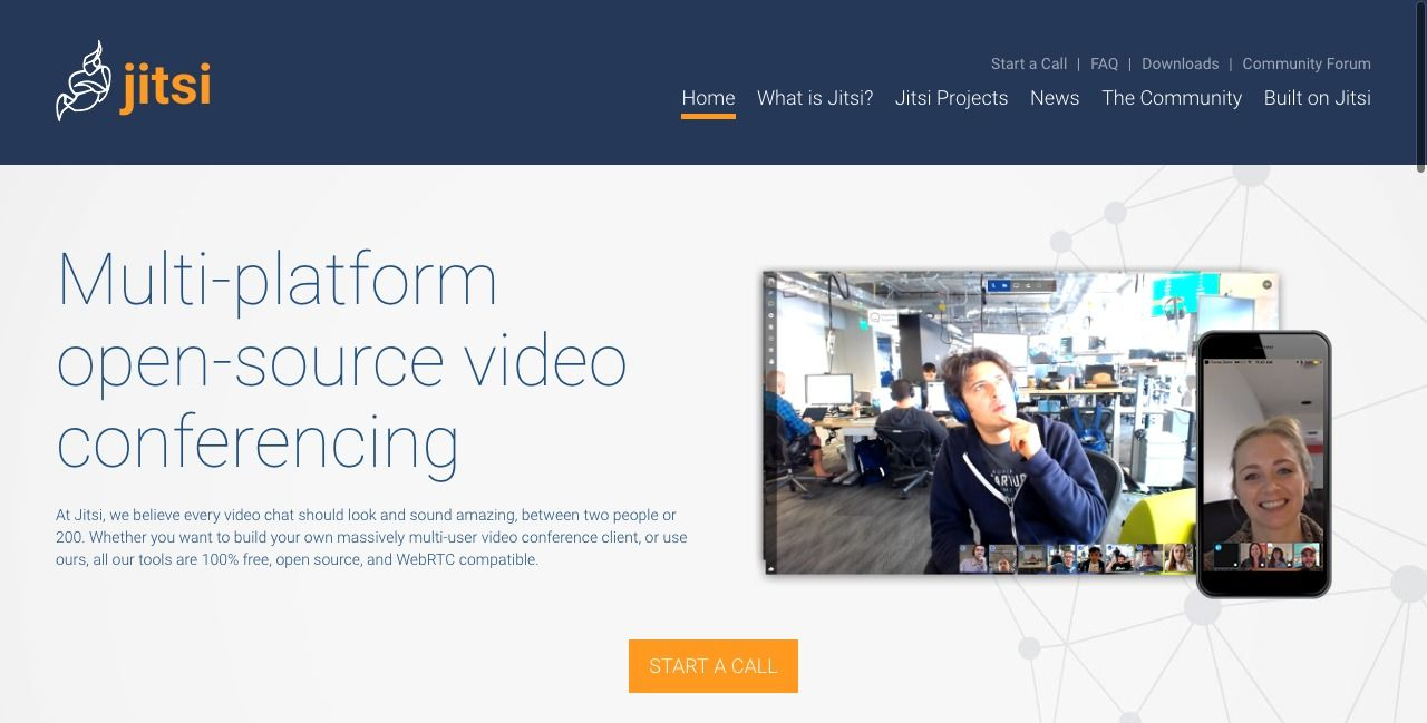 Top 15 Open source Video conference and Team communication solutions