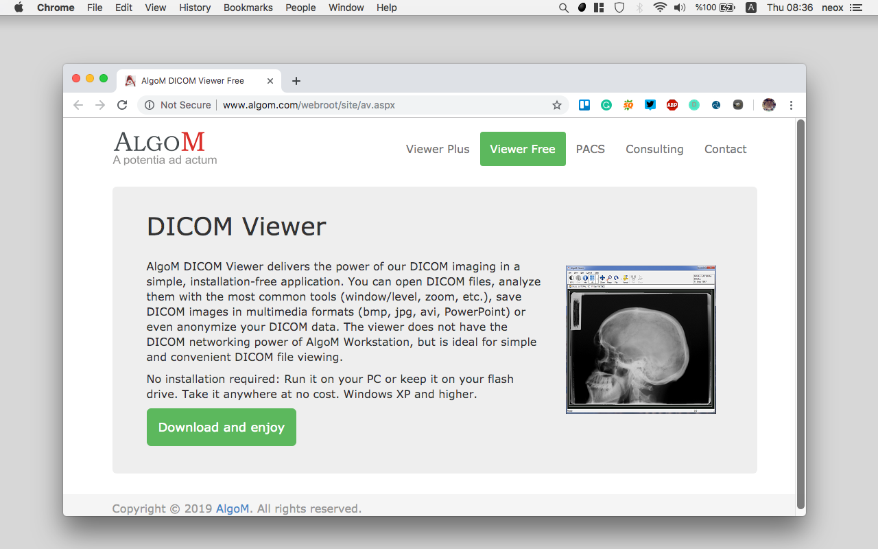 20 Free & open source DICOM viewers for Windows
