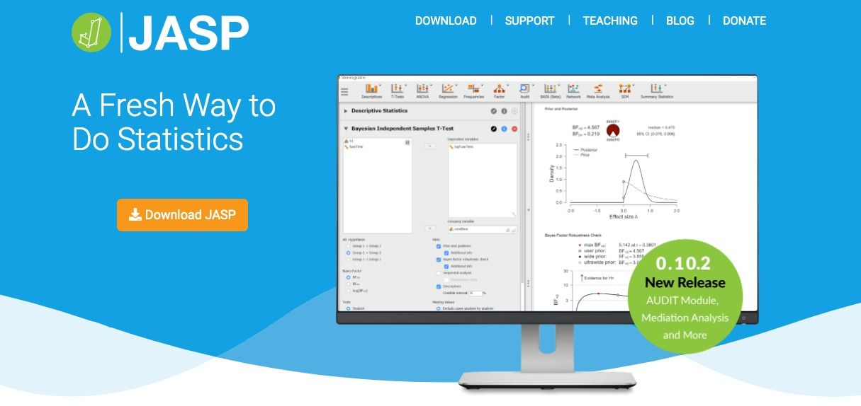 12 Free Open source Statistical Analysis software as SPSS