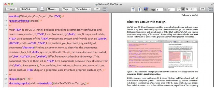 10 Best Free and Open source LaTeX/ TeX editors for macOS