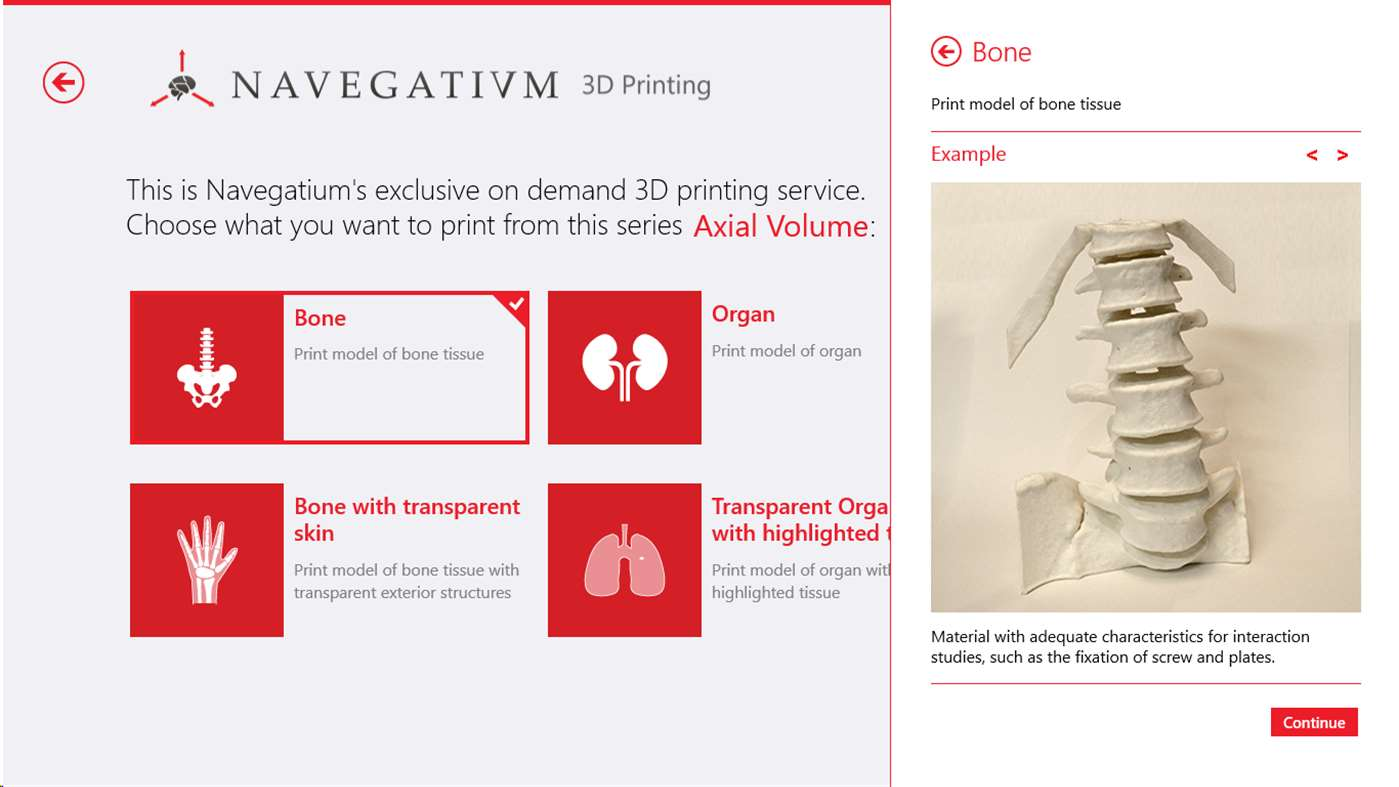 Navegatium: A Free 2D/3D DICOM Viewer with 3D Printing Support