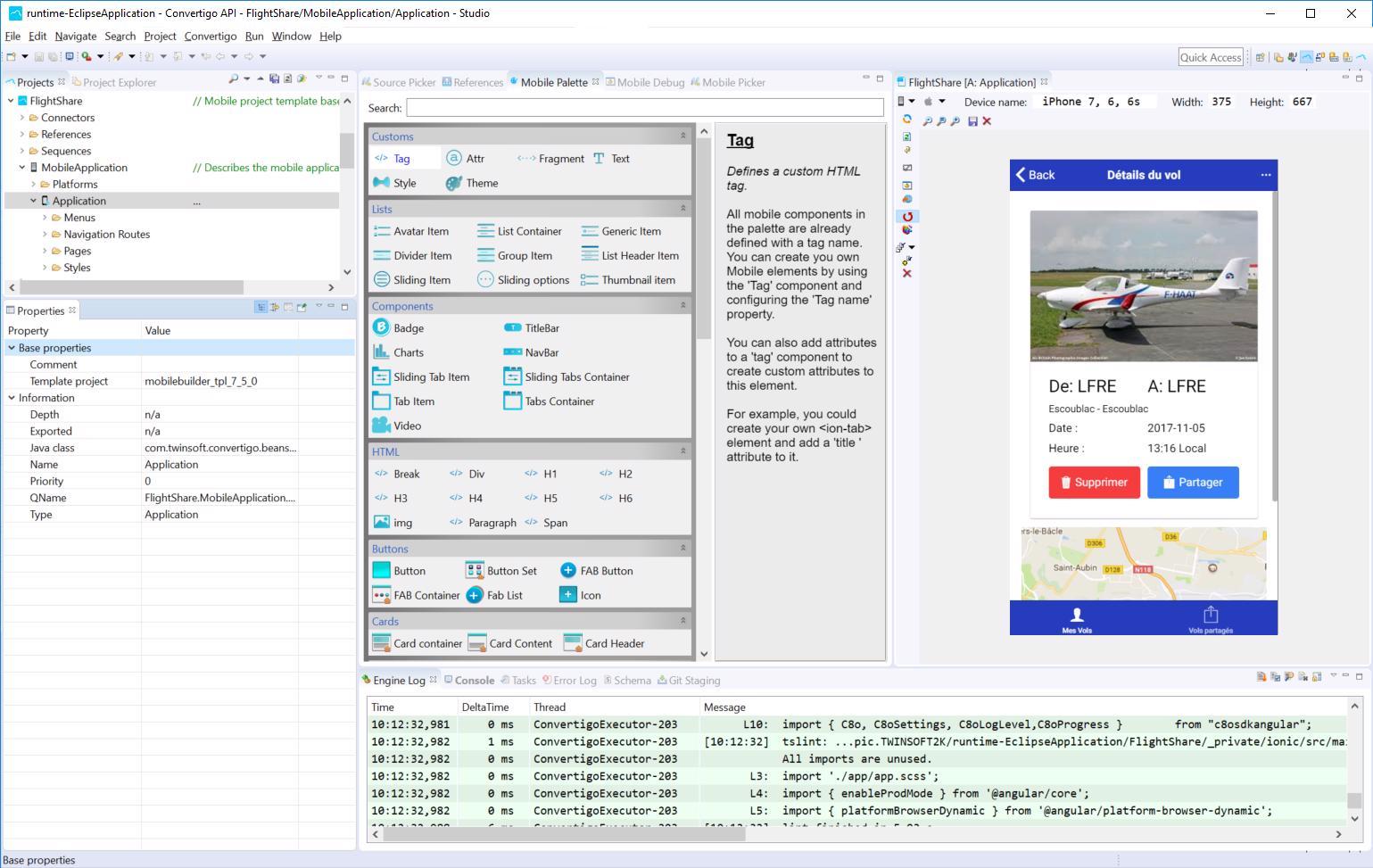 ConvertiGo: RAD web and mobile development with low- and no-code support