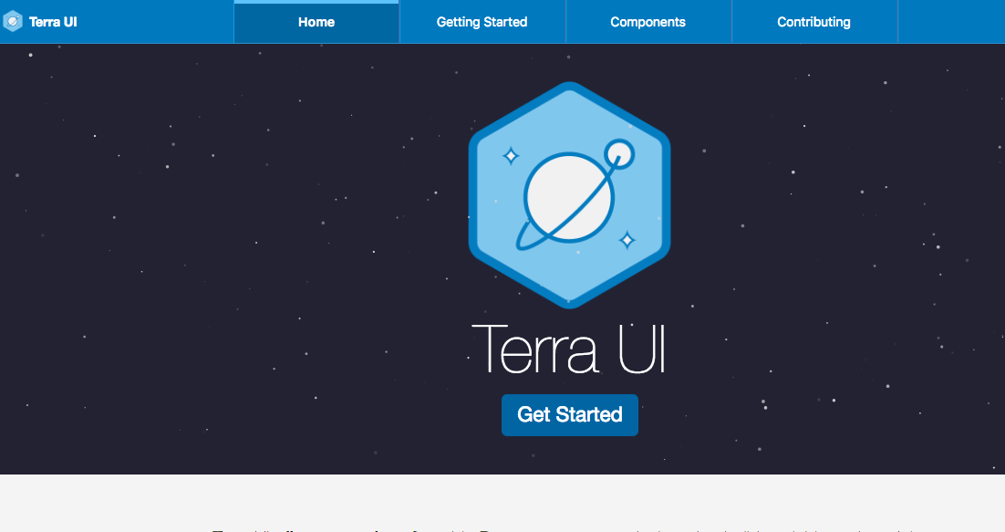 Terra UI : React based components for building clinical/ Medical  applications