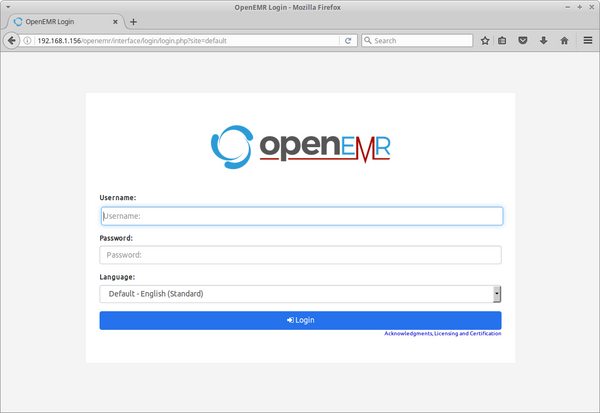OpenEMR - A Superior Alternative to its Proprietary Counterparts. EMR for Windows, MacOSX and Linux.