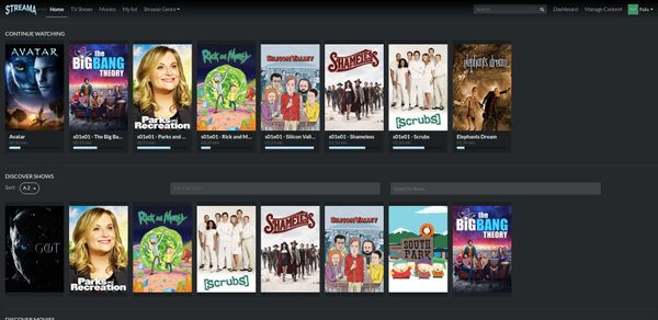 Streama: Create your Home Media Streaming Server for Free
