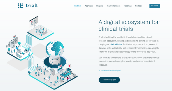 Triall: The First Blockchain-based Clinical Trial Ecosystem